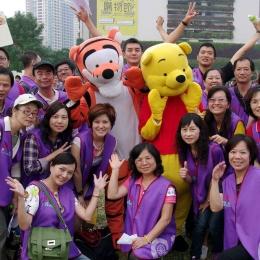 Hưởng ứng ngày tình nguyện viên xí nghiệp ở Đài Trung